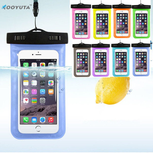 Waterproof Underwater Pouch bag For IPhone - Wise Superstore