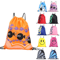 Swimming Waterproof Double Layer Drawstring Travel Portable Bag