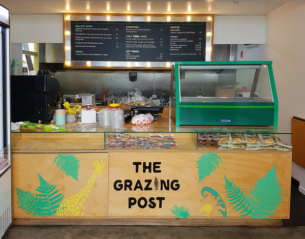 The Grazing Post at Wellington Zoo