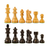 French Wood Chess Pieces King