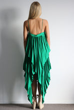 Load image into Gallery viewer, Cedar Pleat Dress Green