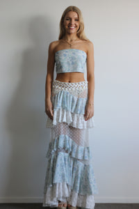 Outlaw Beaded Skirt & Bandeau
