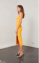 Load image into Gallery viewer, Elle Midi Dress - Mango