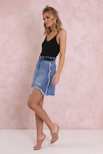 California Denim Skirt / Indigo