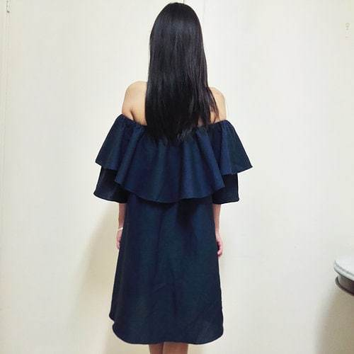 Love Like Linen Dress - Navy