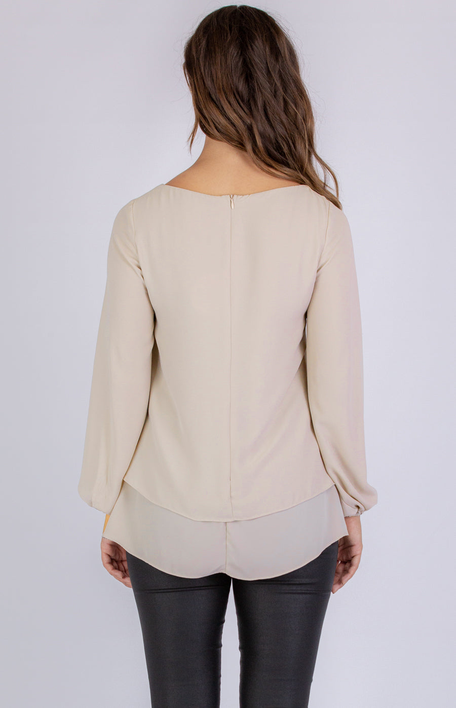 "Aria Top - ""Beige"""