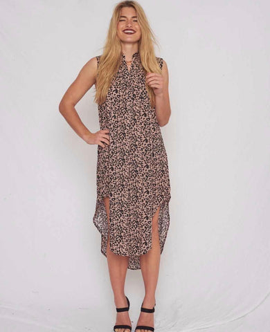 Camilla dress- leopard