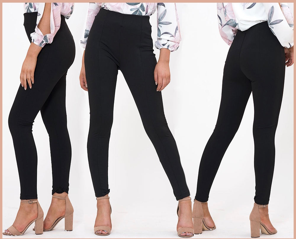 Chanel Ponti Pants - Black