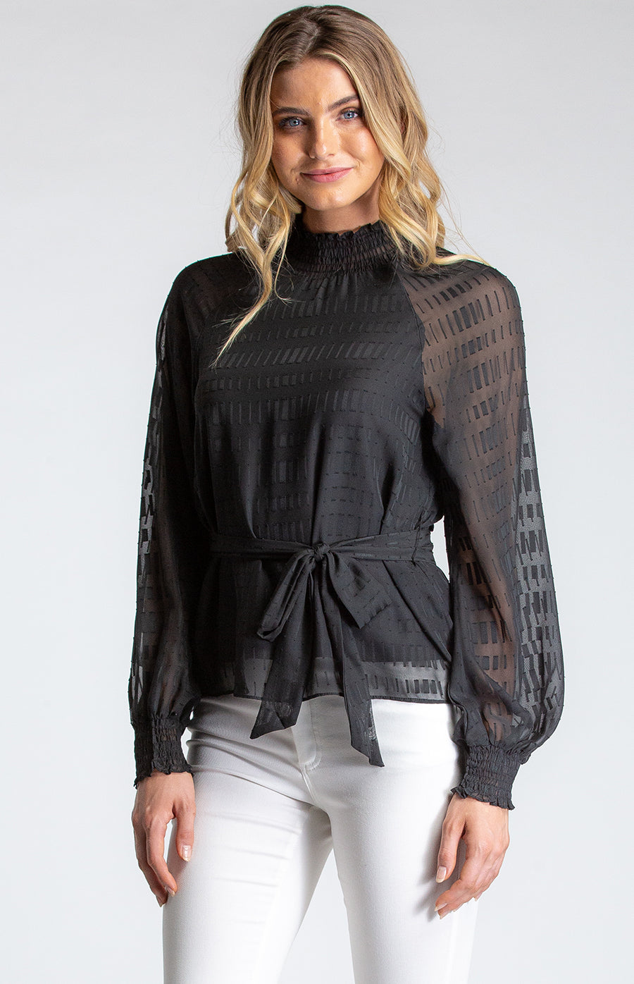 Lily Top- Black