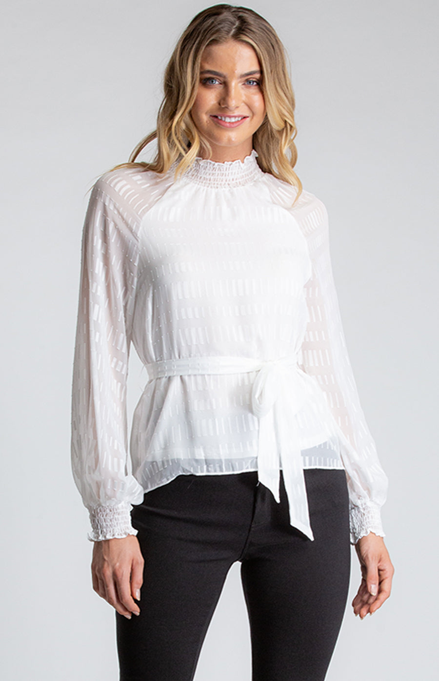 Lily Top- White