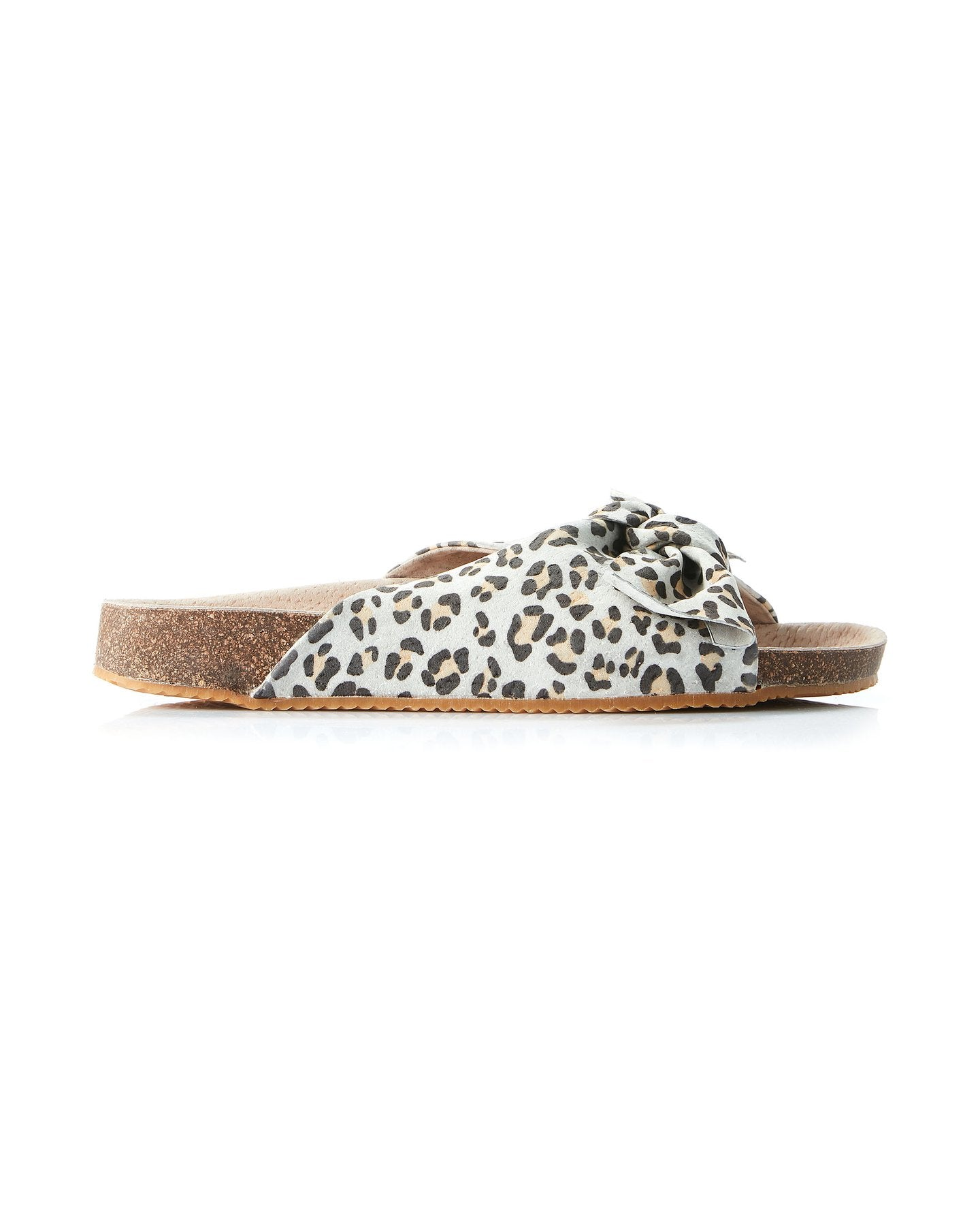 Somerset Leather Tan Leopard