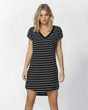 Ava Dress - Black & White