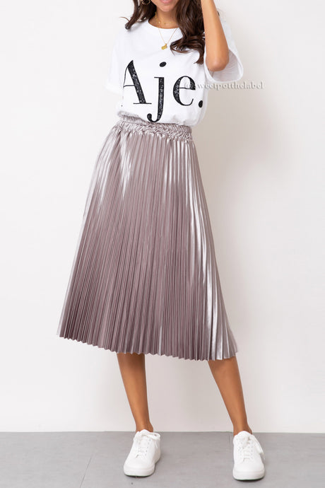 Shirley Skirt- Mauve