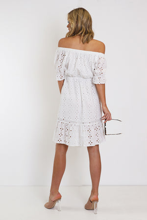 Valentina Dress /White Lace