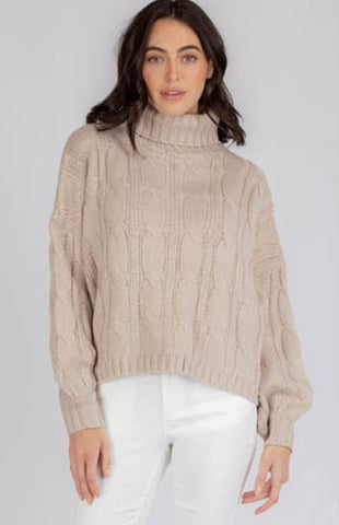 """Chloe"" Weekend Jumper   ""Silver Boat Neck Style"""