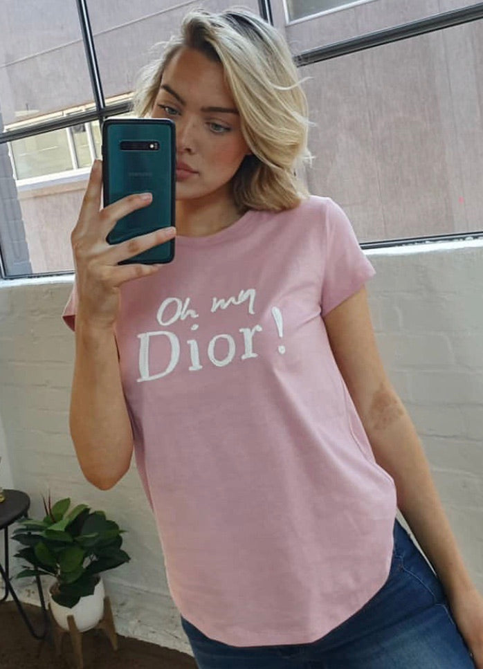 Oh my Dior Tee - Pink