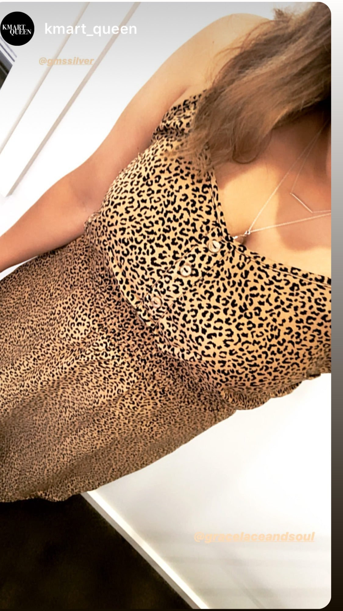 Bree Leopard Dress- Mocha Leopard