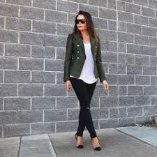 Khaki Structured Blazer