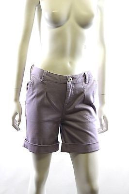 Ben Sherman Washed Twill Cuffed Short Vintage Lilac Shorts Size S BNWT RRP $100