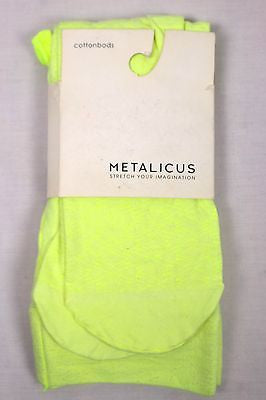Metalicus Acid Suds Yellow Babushka Tights S - M Brand New With Tags
