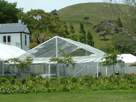 10x10m Clear Marquee