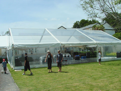 10x15m Clear Marquee