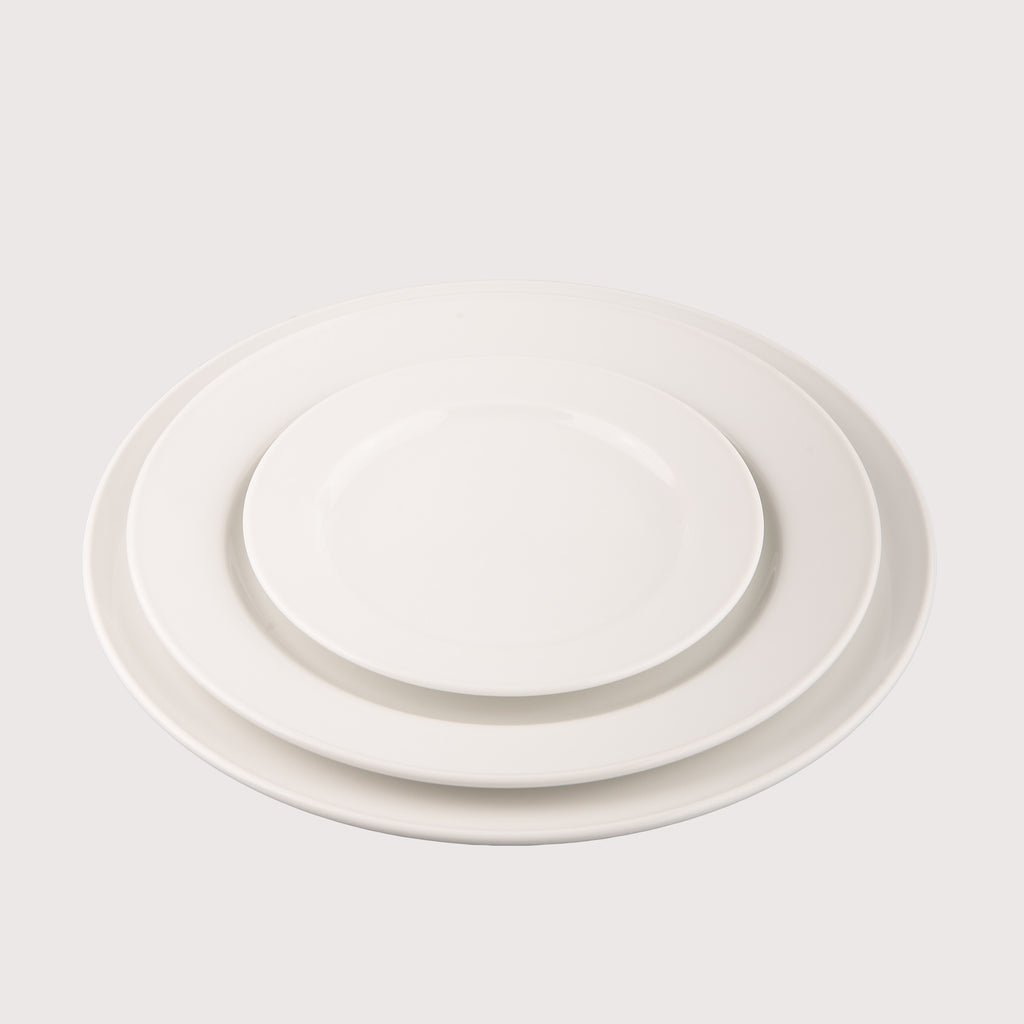 Dinner Plate, Side Plate and Dessert Bowl - Patra Package