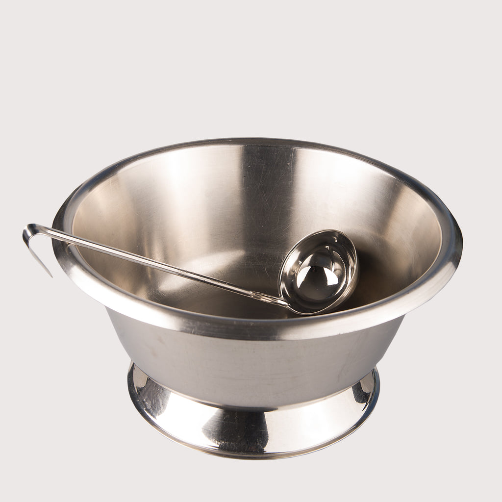 Punch Bowl and Ladle 10L
