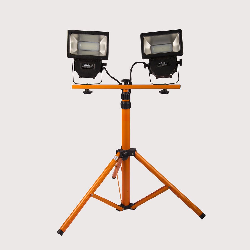 LED Flood Lights on Stand