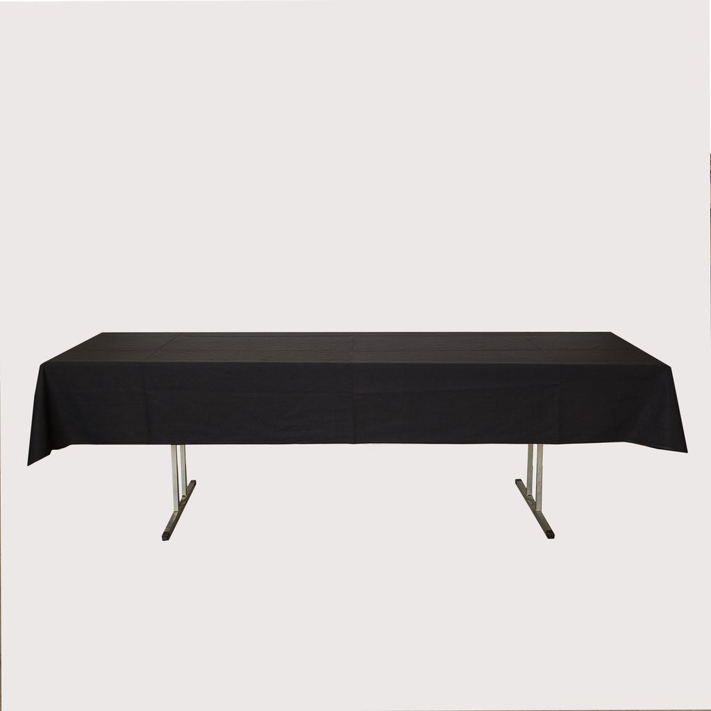Tablecloth 2.4m Black