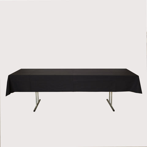 Tablecloth - Long 3mx137cm Black