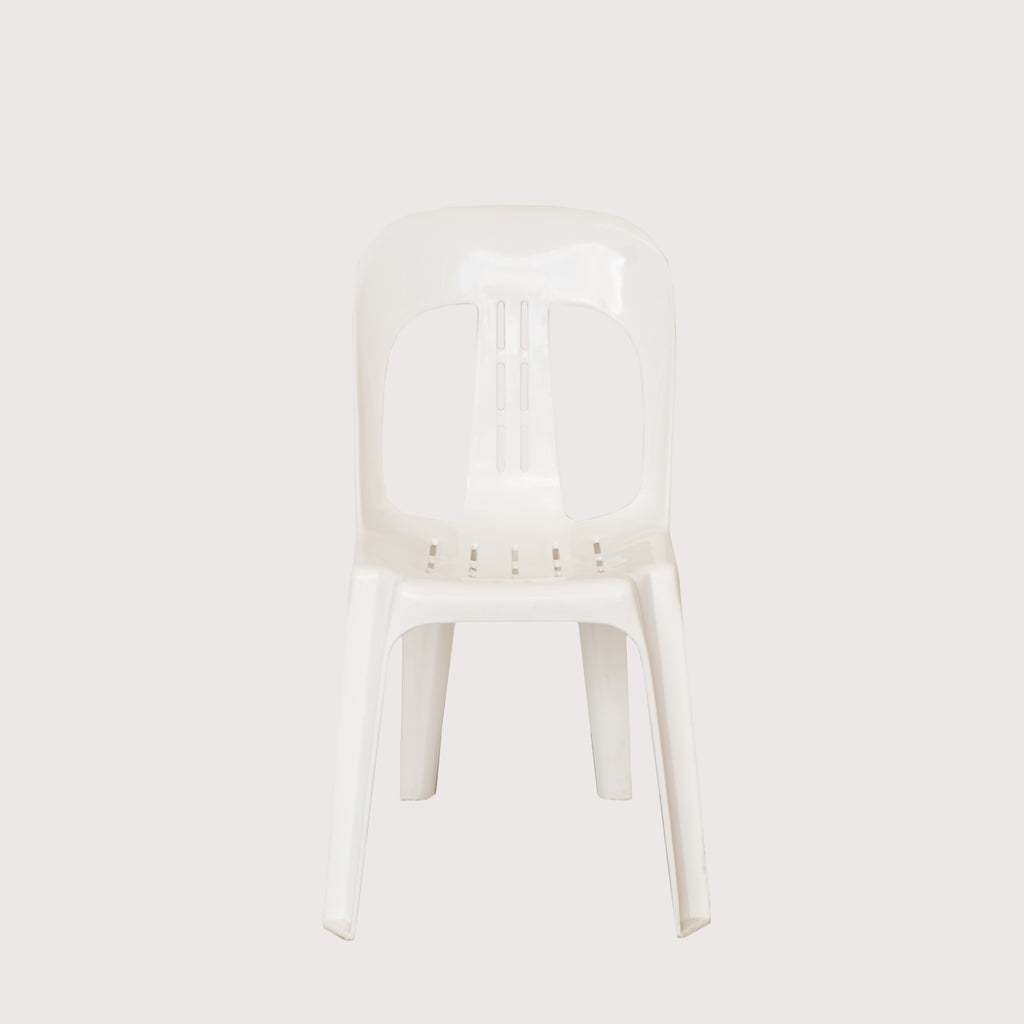 Plastic White Resin chair