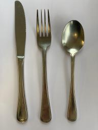 (Elite) Kinfe, Fork and Spoon Set