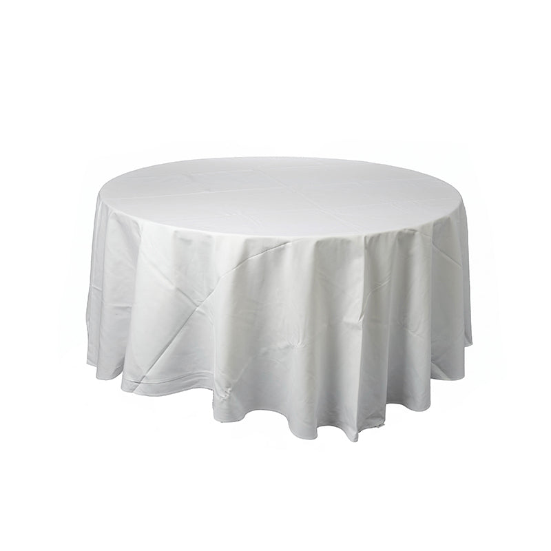 Tablecloth - Round 2.4m White