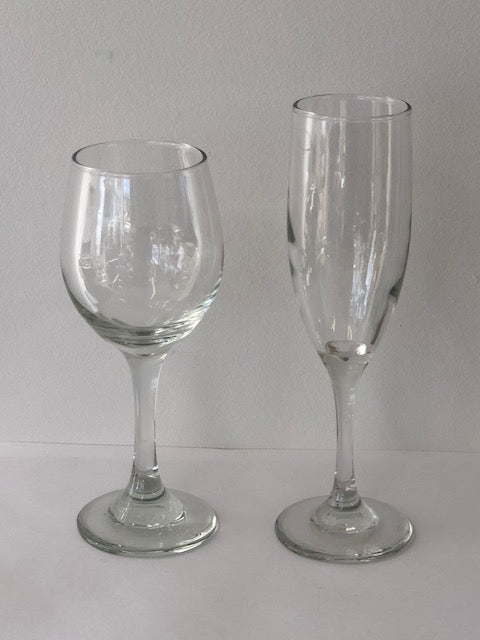 Wine and Champagne glass set