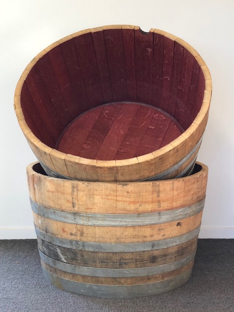 Wine Barrel Half