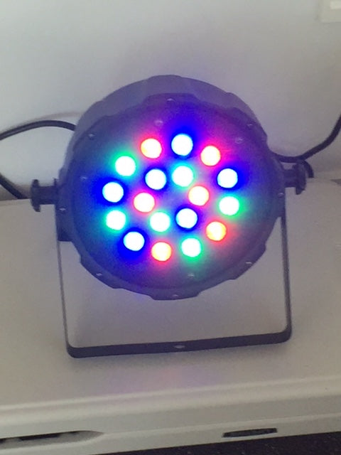 LED par can colour light