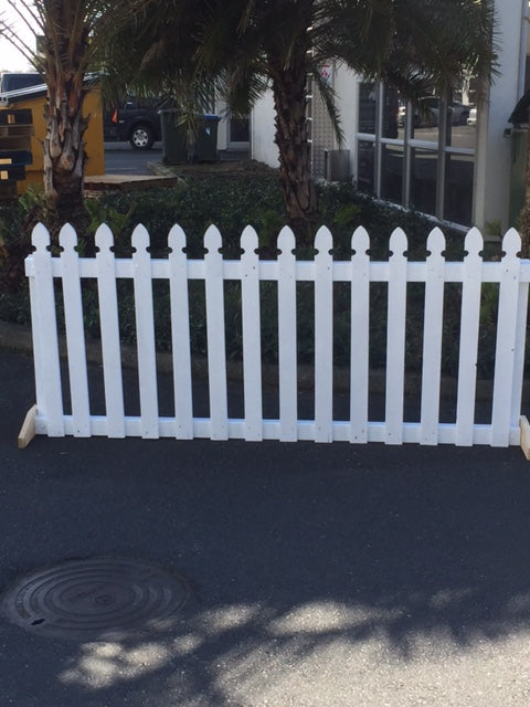 Picket fence 2 metres