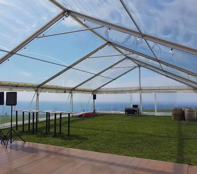 10x20m Clear Marquee