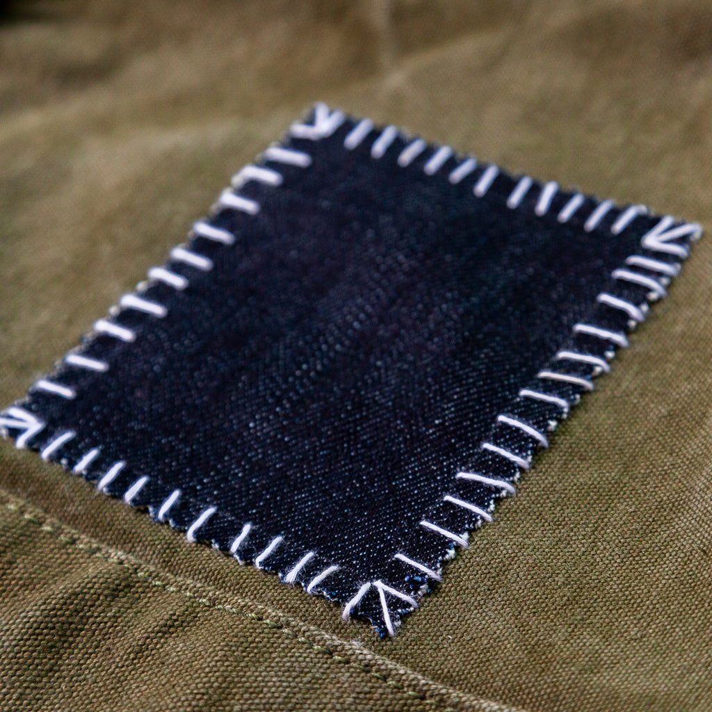 Fast + Easy Patch for Heavy Weight Fabrics