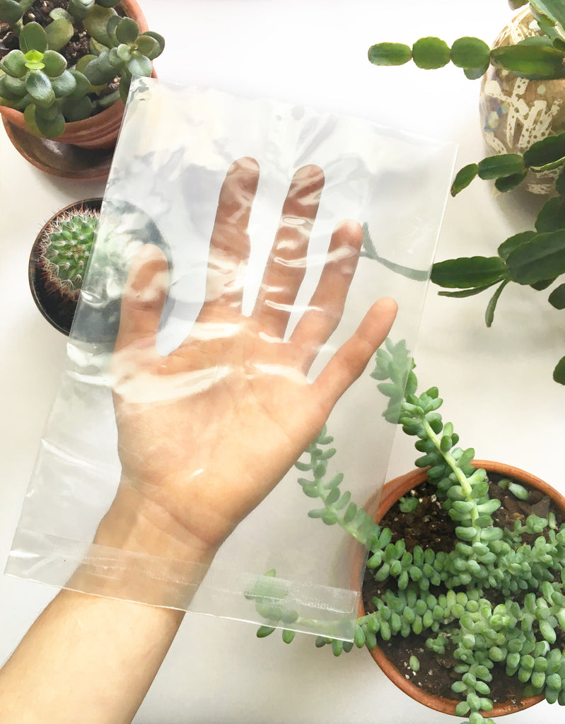 miniature rhino sustainable packaging cellophane