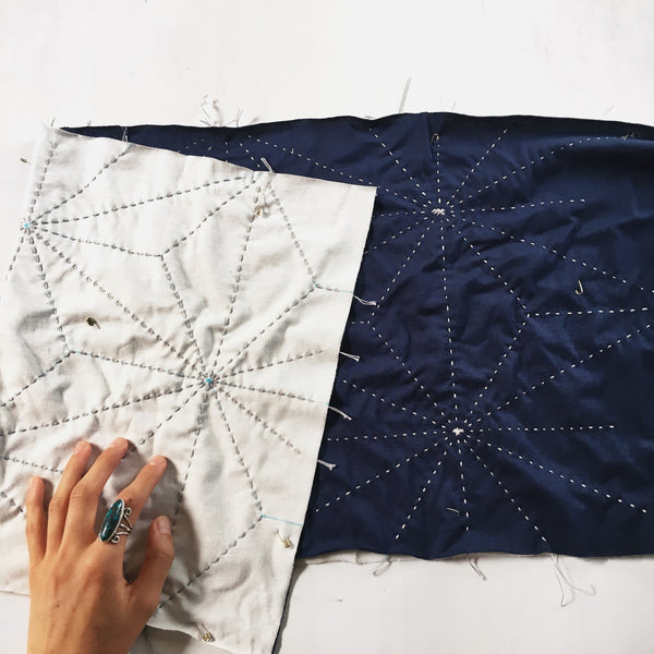 Make and Mend Starry Geometric Scarf Kit