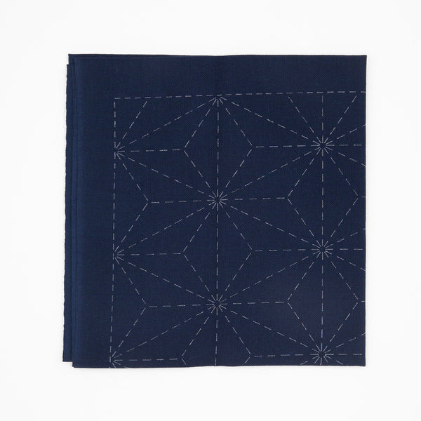 Sashiko Sampler - Asa-no-hana (Hemp Leaf Pattern)