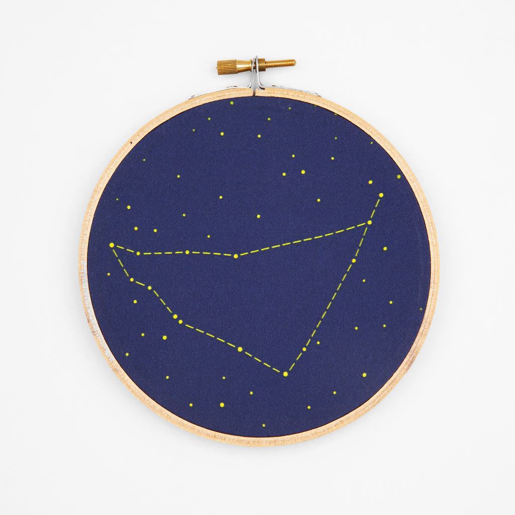 Capricorn Zodiac Constellation Embroidery Kit