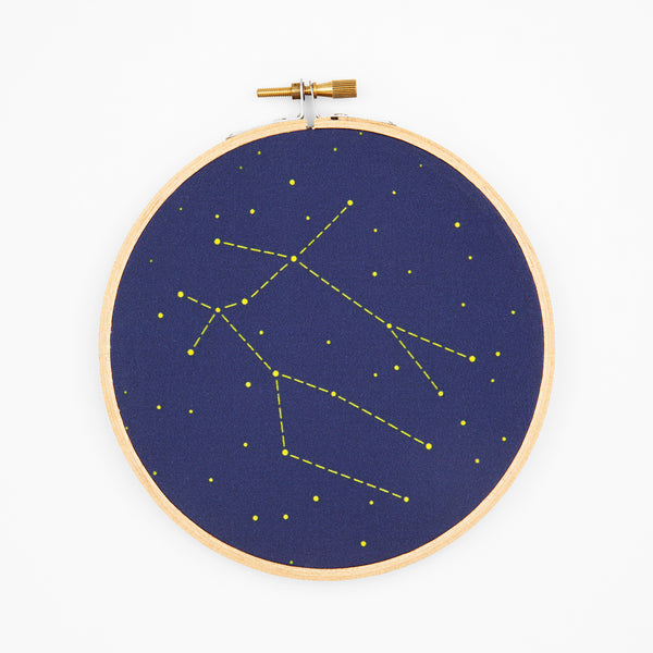 Gemini Zodiac Constellation Embroidery Kit
