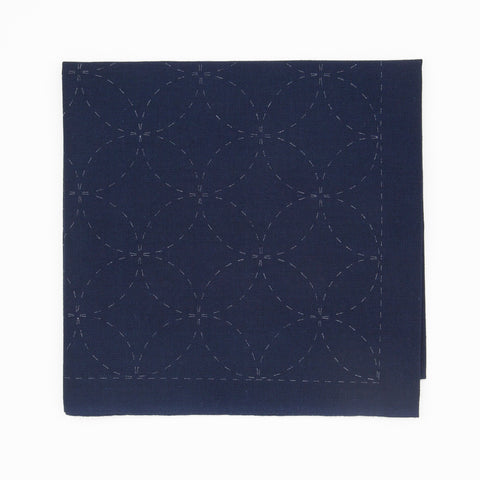 Sashiko Sampler - Shippo-tsunagi (Linked Seven Treasures)