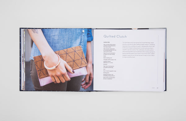 Signed Copy of Make and Mend Book - Sashiko-Inspired Embroidery Projects