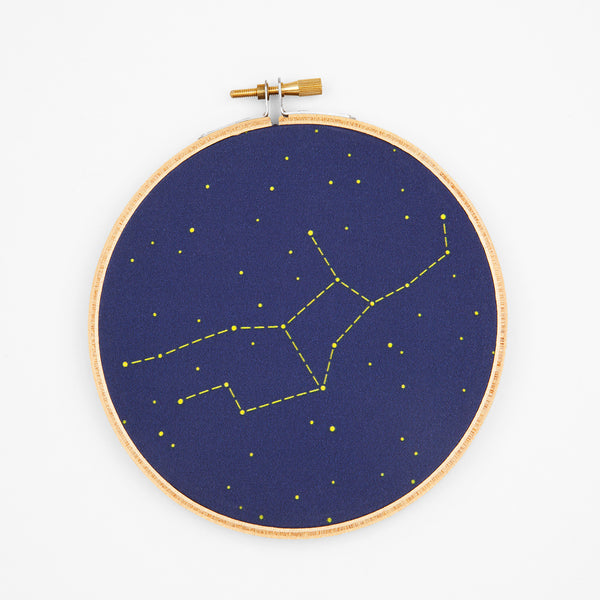 Virgo Zodiac Constellation Embroidery Kit