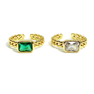 18k-Yellow-Gold-Vermeil-Chain-Link-Baguette-Stone-Ring
