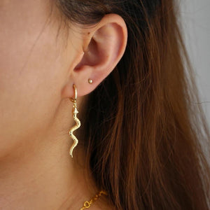 18k-Yellow-Gold-Plated-Dangling-Etched-Snake-Huggies